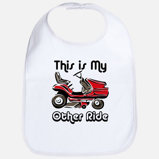 Mower My Other Ride Bib
