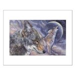 Coyote Small Poster