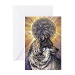 Dark Sun Greeting Card