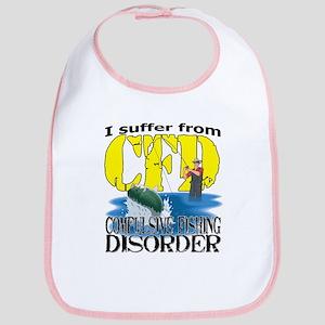 CFD - Compulsive Fishing Disorder Bib