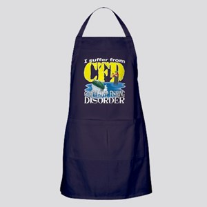 CFD - Compulsive Fishing Disorder Apron (dark)