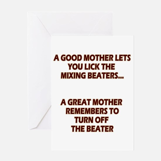 Good Moms, Great Moms Greeting Card