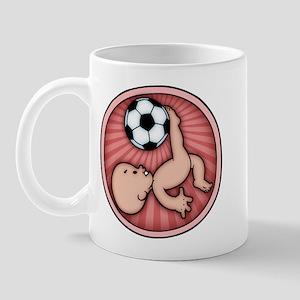 Soccer Baby Kick Mug