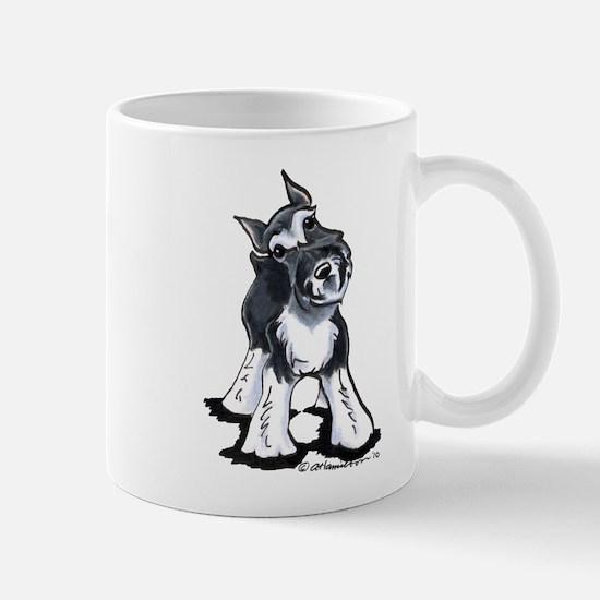 Playful Schnauzer Mug