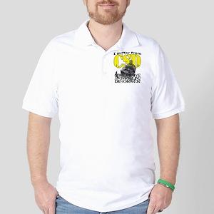 CSD Compulsive Snowmobile Disorder Golf Shirt