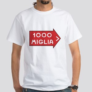 Mille Miglia White T-Shirt
