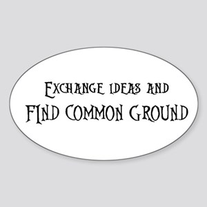 Exchange ideas and Sticker