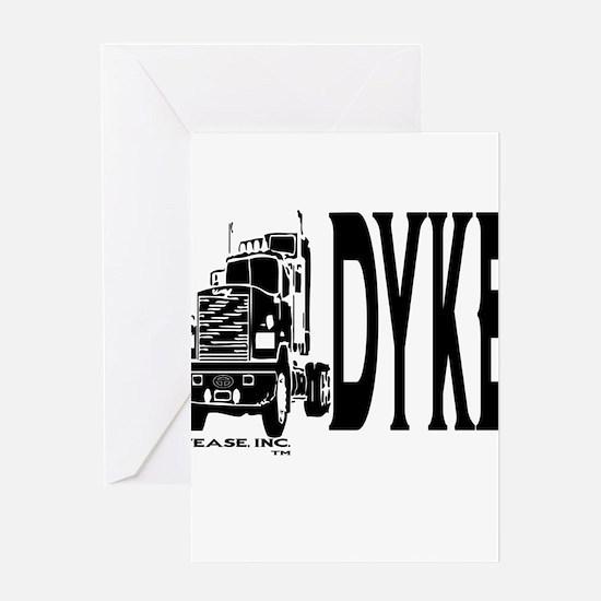 Deisel Dyke Greeting Card