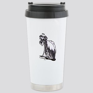 Schnauzer Angel Stainless Steel Travel Mug