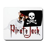 Pirate Jack Russell Mousepad