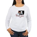 Pirate Jack Russell Women's Long Sleeve T-Shirt