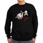 Pirate Jack Russell Sweatshirt (dark)