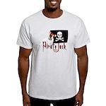 Pirate Jack Russell Light T-Shirt