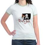 Pirate Jack Russell Jr. Ringer T-Shirt