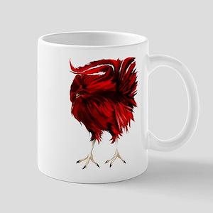 Big, Red Rooster Mug