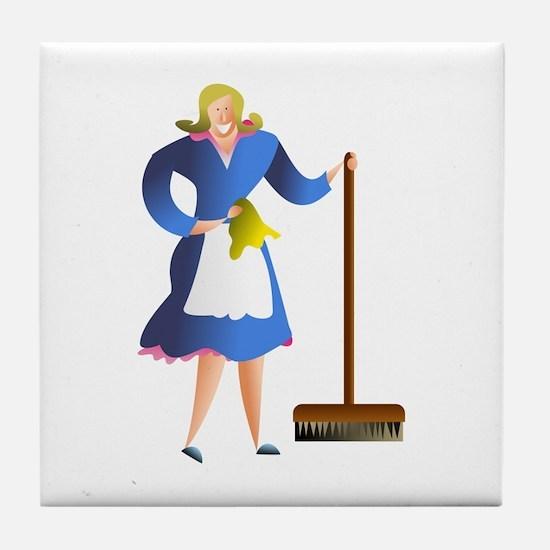 Housewife Tile Coaster
