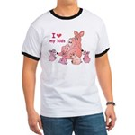 I Love Kids (Pig) Ringer T