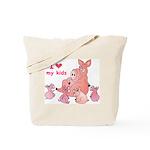 I Love Kids (Pig) Tote Bag