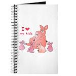 I Love Kids (Pig) Journal