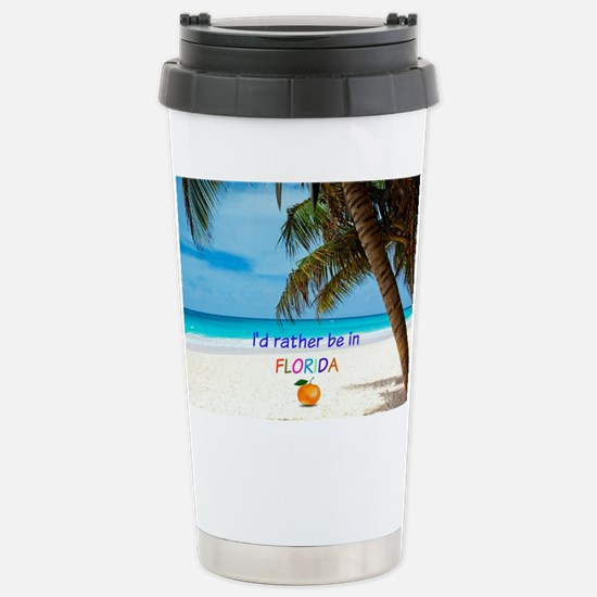 Funny Palm trees Travel Mug