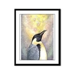 Penguin Framed Panel Print