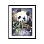 Panda Framed Panel Print