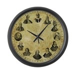 "Pope Pius Clock - 17"" Large Wall Clock"