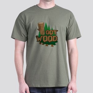 Got Wood Dark T-Shirt
