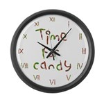 Large Candy Wall Clock