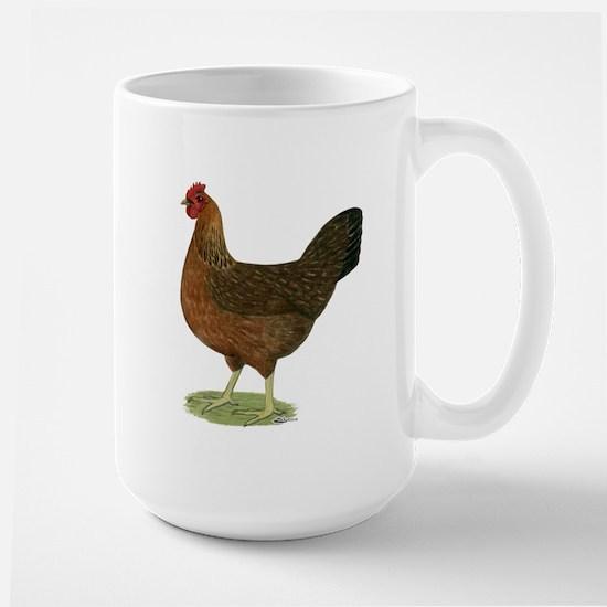 Welsummer Hen Large Mug