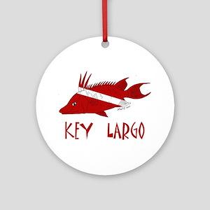 Key Largo Ornament (Round)