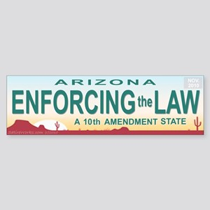 AZ Law Sticker (Bumper)