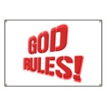 God Rules! Banner