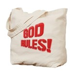 God Rules! Tote Bag