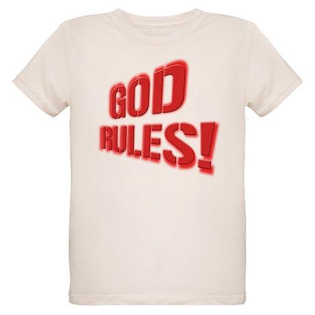 God Rules! Organic Kids T-Shirt