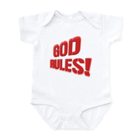 God Rules! Infant Bodysuit