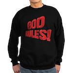 God Rules! Sweatshirt (dark)
