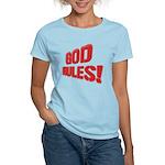 God Rules! Women's Light T-Shirt