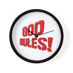 God Rules! Wall Clock