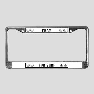 Maltese PFS License Plate Frame