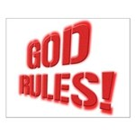God Rules! Small Poster
