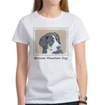 Bernese Mountain Dog Women's Classic White T-Shirt