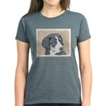 Bernese Mountain Dog Puppy Women's Dark T-Shirt