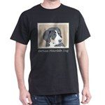 Bernese Mountain Dog Puppy Dark T-Shirt