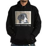 Bernese Mountain Dog Puppy Hoodie (dark)