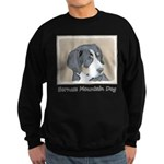 Bernese Mountain Dog Puppy Sweatshirt (dark)