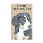 Bernese Mountain Dog Pup Sticker (Rectangle 10 pk)