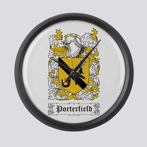 Porterfield Large Wall Clock
