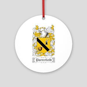 Porterfield Ornament (Round)