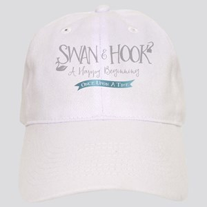OUAT Swan Hook Happy Beginning Baseball Cap